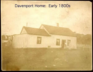 Davenport Home:  Early 1800s