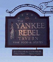 Yankee Rebel Sign